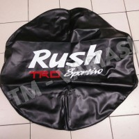 Cover Sarung Ban Serep Semi Kulit Logo RUSH TRD SIze M