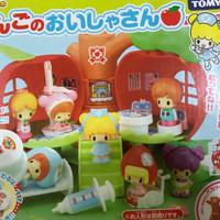 takara tomy koeda chan apple tree hospital house rumah apel playset