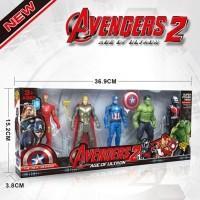 ROBOT AVENGER 2 AGE of ULTRON 2115 / 1 SET 5 pcs Superhero