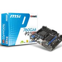 (Dijamin) Motherboard MSI 760GM-P23 (Socket AM3+)