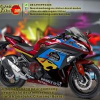 Decal Striping Kawasaki Ninja 250 FI – Moto3 Merah 036 Full Body