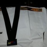 Dobok / Baju Taekwondo Kwon Tiger Dan (kerah Hiatam