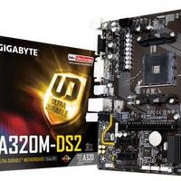 Motherboard Gigabyte GA-A320M-DS2 AM4,DDR4, USB3.1, SATA3 Murah