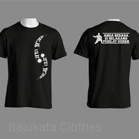 Atasan/Kaos/T-Shirt/Pencak Silat Anda berada di belakang pesilat keren