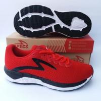 sepatu running specs dual enduro true red/black/white art.200505