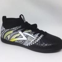 Hello Sepatu Futsal Specs Original Heritage Black Gold White New 2018