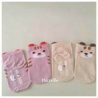 kaos kaki anti slip ankle anak bayi bear ear 3D import