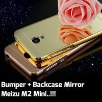 Bumper + Back Case Mirror Meizu M2 Mini