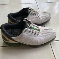 footjoy green Fj sport golf shoes / sepatu