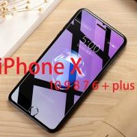 Tempered Glass iPhone X Ten 10 9 8 7 6 + plus Anti-blue Light Ray