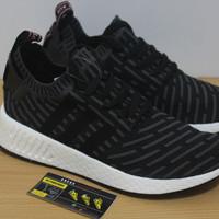 Sepatu Adidas NMD R2 PK Utility Black Pink - Premium Quality