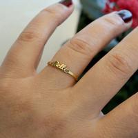 Cincin Emas Nama Muda Simple Ring |Cincin Kawin |Cincin Nikah |Kado