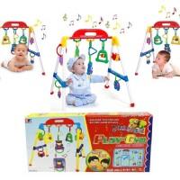 Mainan Edukasi Belajar Bayi Baby Kado Musical Musik Play Gym PlayGym