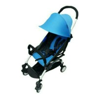 BabyDoes CH338 Petite Stroller Blue 000110041