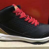 promo sepatu basket piero zagato warna hitam gold ORIGINAL