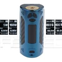 MOD VAPOR VAPE - DOVPO TRIGGER 168W BOX MOD BLUE