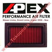 Filter Udara Livina Grand Livina 06-Now Apex Racing Filter
