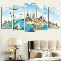 poster seven wonders of the world