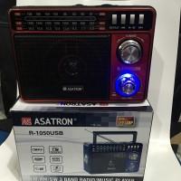 Speaker Radio ASATRON R1050 USB FM AM SW 3Band MP3 Usb Memori