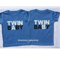 KAOS/ BAJU ANAK KEMBAR  (Baju anak khusus anak kembar) Twin Baby