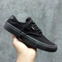 Sepatu Vans Chima Ferguson Pro Skate Full All Black Premium Original