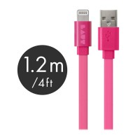 LINK Flat Cable (MFI approved) - Pink