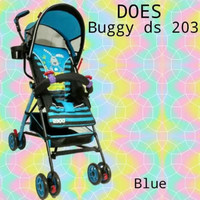 Stroller Bayi Baby Does Buggy 203 Blue