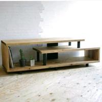 TV cabinet / rak TV minimalis / kayu jati belanda
