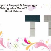 Arm Support Penjepit & Penyangga Selang Infus Model T Untuk Printer
