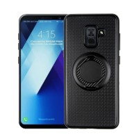 I-Zore Magnetic Ring Shockproof Case Samsung Galaxy A8 Plus 2018