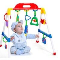 Play Gym Musical Mainan Anak Bayi Toys Gantungan Toy Musik Asah Otak