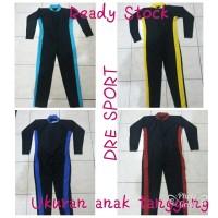 Baju renang diving panjang (SELAM) untuk anak SD usia 6-10 tahun