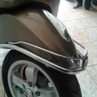 Asesoris vespa matic front bumper