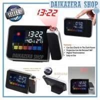 SAHUR REMINDER | Jam Weker / Digital LED Light Weather Projector Clock