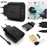 Aukey Quick Charge 3.0 Dual Port Charger PA-T13 Qualcomm Certified