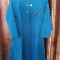 gamis jubah anak laki2 no.7-9 + peci/ set seragam ngaji baju muslim