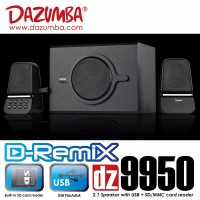 Speaker Aktif Dazumba DZ9950 Rekomen For TV, USB Flash Disk n SD Card