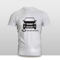 Kaos Baju Pakaian MOBIL WULING CONFERO S TAMPAK DEPAN