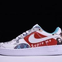 Nike Air Force 1 low x Bape x Kaws x Supreme