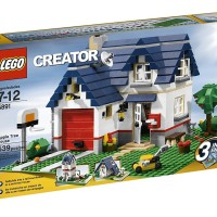 LEGO Apple Tree House 5891 - Creator Series
