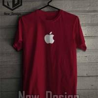 Baju Kaos Apple iphone simple