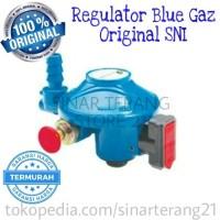 Regulator Khusus Kompor / Tabung BLUE GAS/GAZ 28 mbar Aman & Bermutu