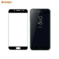 Tempered glass Full 3D samsung J7 Plus / J7+ anti gores curved warna