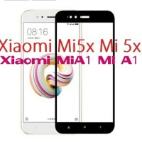 Tempered glass Full 3D xiaomi Mi5X Mi 5X / MiA1 Mi A1 anti gores warna