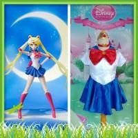 Kostum Dress Baju Karakter Sailormoon Sailor Moon Usagi Tsukino