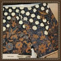 bahan kain batik sarimbit full tulis asli krikil kembang
