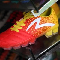 Sepatu Bola Specs Equinox FG Emperor Red Yellow Original Promo