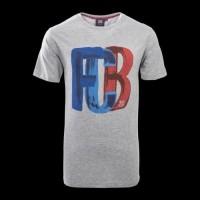 Kaos Tshirt Baju Combed 30S Distro Barca BArcelona FCB