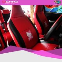 Sarung Jok Praktis Mobil Ayla Hello Kitty