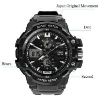 PROMO SKMEI Sport Watch 0990 Original Water Resistant 50M - Black